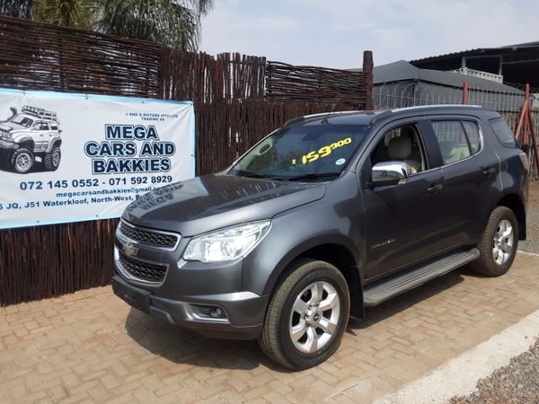 2013 Chevrolet Trailblazer 2.8 Ltz 4x4  North West Province Rustenburg_0