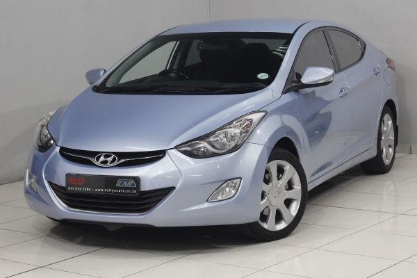 2012 Hyundai Elantra 1.8 Gls  Gauteng Nigel_0