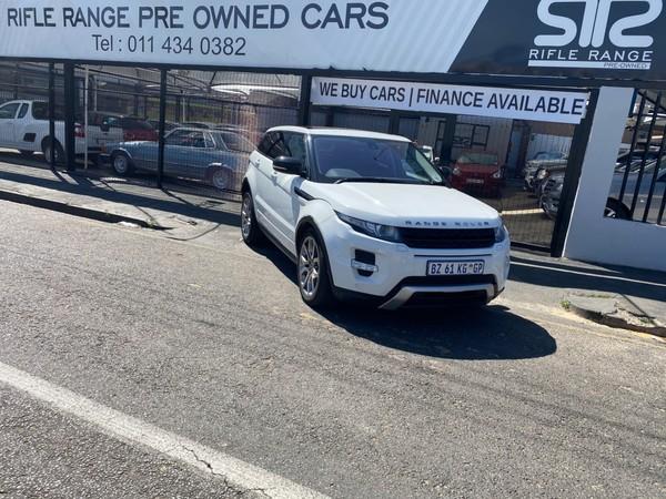 2012 Land Rover Evoque 2.2 Sd4 Dynamic  Gauteng Rosettenville_0