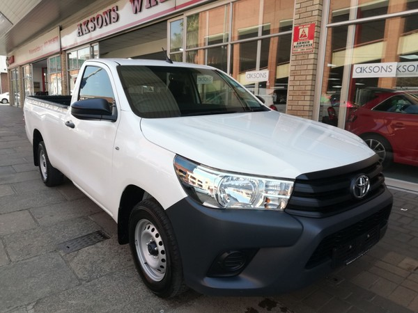 2019 Toyota Hilux 2.4 GD Single Cab Manual Kwazulu Natal Pietermaritzburg_0