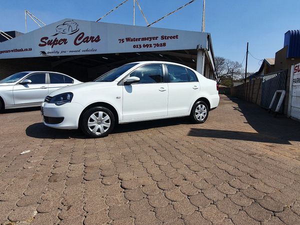 2014 Volkswagen Polo Vivo GP 1.6 Trendline Mpumalanga Witbank_0