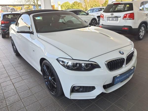 2018 BMW 2 Series 220i Convertible M Sport Auto F23 Gauteng Midrand_0
