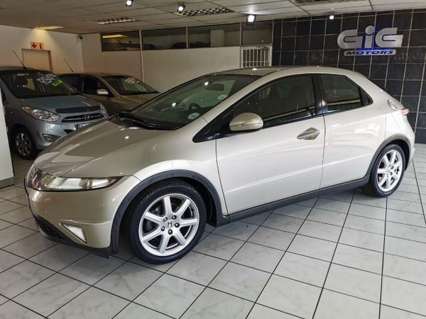 2008 Honda Civic 1.8i-vtec Exi 5dr  Gauteng Edenvale_0