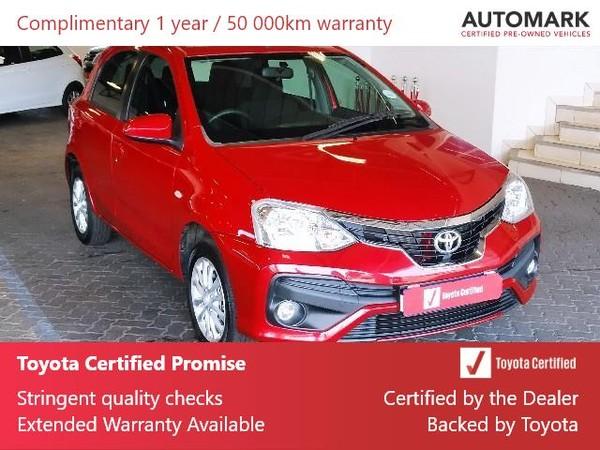 2020 Toyota Etios 1.5 Xs 5dr  Gauteng Roodepoort_0