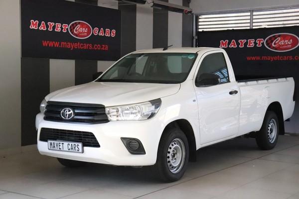 2017 Toyota Hilux 2.4 GD Single Cab Bakkie Mpumalanga Delmas_0