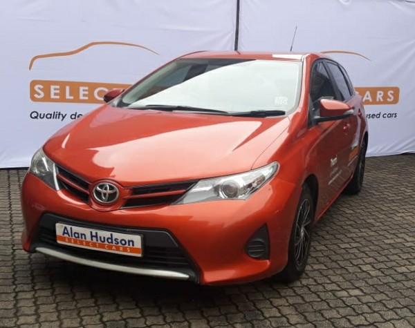 2014 Toyota Auris 1.3 X  Mpumalanga Nelspruit_0
