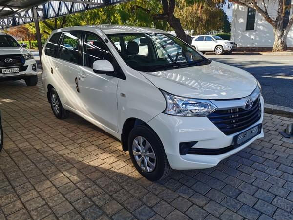 2017 Toyota Avanza 1.5 SX Western Cape Robertson_0