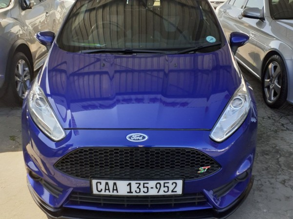 2017 Ford Fiesta ST 1.6 Ecoboost GDTi Western Cape Bellville_0