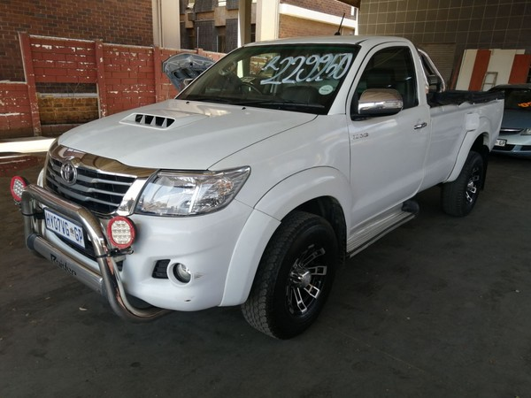 2014 Toyota Hilux 3.0 D-4D LEGEND 45 RB Single Cab Bakkie Gauteng Johannesburg_0