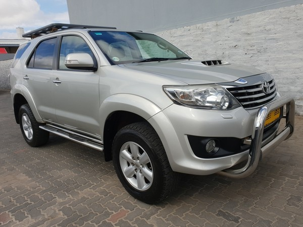 2012 Toyota Fortuner 3.0d-4d Heritage 4x4 At  Western Cape Worcester_0