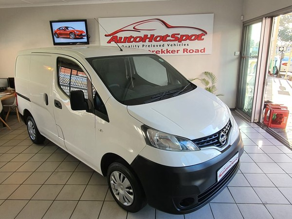 2015 Nissan NV200 1.6i Visia FC Panel van Western Cape Parow_0