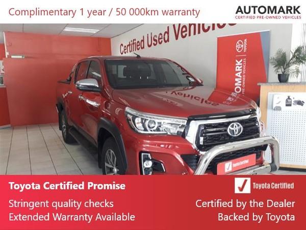 2019 Toyota Hilux 2.8 GD-6 Raider 4X4 Auto Double Cab Bakkie Gauteng Springs_0