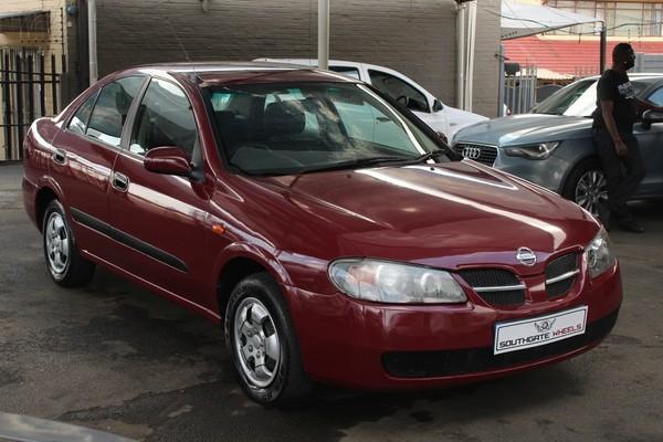 2004 Nissan Almera 1.6 Luxury At h1627  Gauteng Roodepoort_0