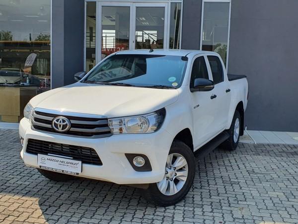 2018 Toyota Hilux 2.4 GD-6 SRX 4X4 Double Cab Bakkie Auto Mpumalanga Nelspruit_0