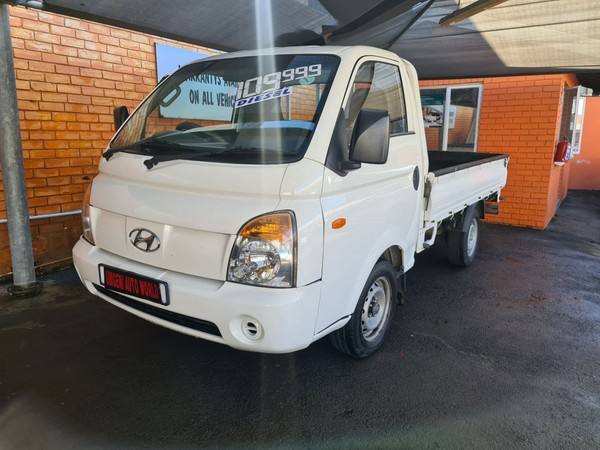 2013 Hyundai H100 Bakkie 2.6d Fc Ds  Kwazulu Natal Durban_0