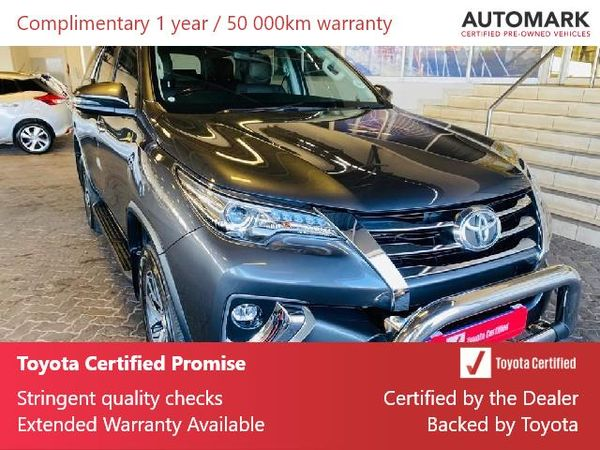 2019 Toyota Fortuner 2.8GD-6 RB Auto Gauteng Roodepoort_0