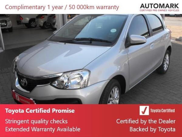 2019 Toyota Etios 1.5 Xs 5dr  Mpumalanga Standerton_0