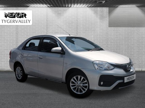 2018 Toyota Etios 1.5 Xs  Western Cape Tygervalley_0