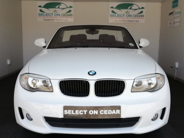 2012 BMW 1 Series 125i Convertible At  Gauteng Four Ways_0