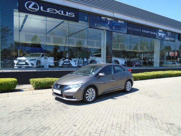 2013 Honda Civic 1.8 Executive 5dr  Gauteng Four Ways_0
