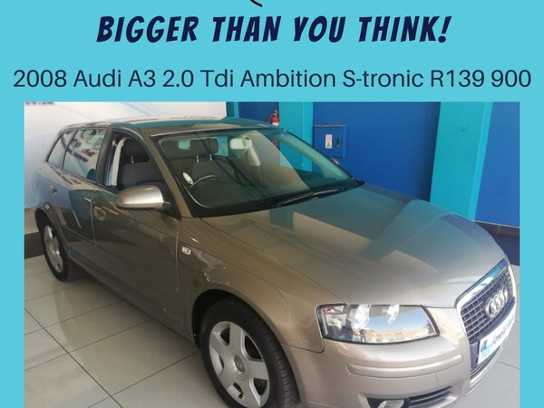2008 Audi A3 2.0 Tdi Ambition S Tronic  North West Province Klerksdorp_0