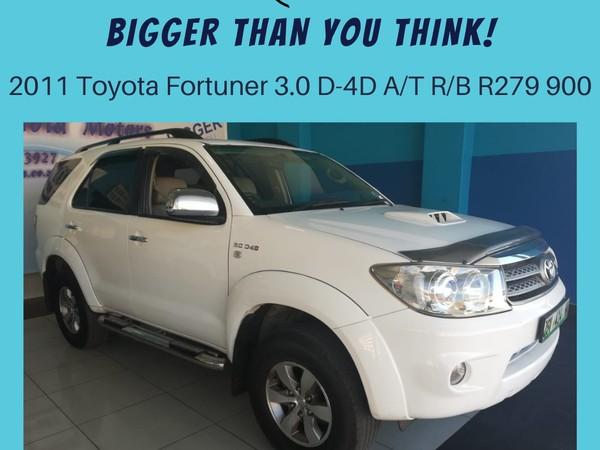 2011 Toyota Fortuner 3.0d-4d Rb At  North West Province Klerksdorp_0