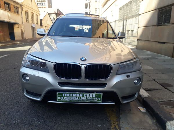 2014 BMW X3 Xdrive20d Exclusive At  Gauteng Johannesburg_0