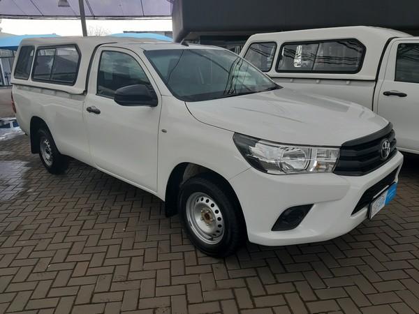 2017 Toyota Hilux 2.4 GD AC Single Cab Bakkie Gauteng Vereeniging_0