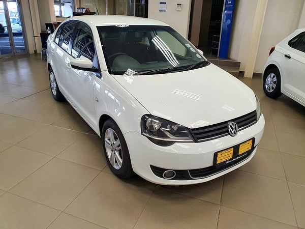 2015 Volkswagen Polo Vivo GP 1.6 Comfortline Mpumalanga White River_0