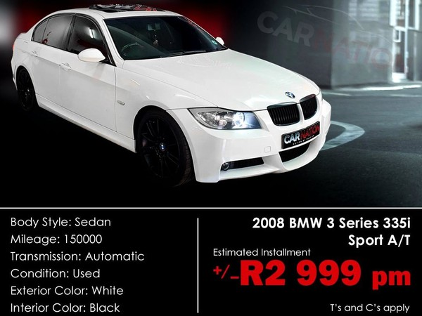 2008 BMW 3 Series 335i At e90  Western Cape Goodwood_0