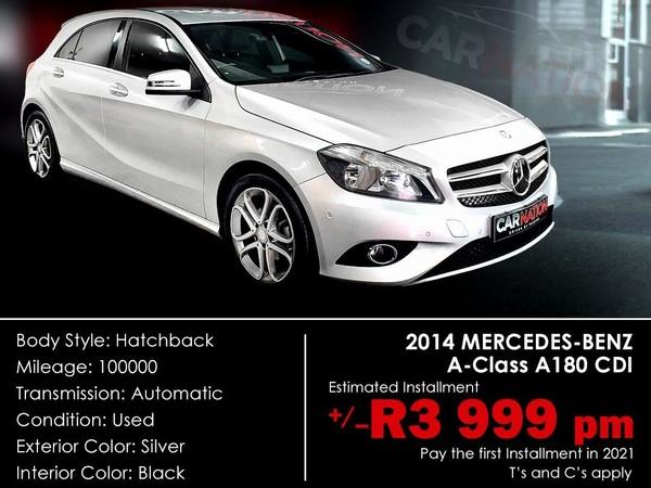 2014 Mercedes-Benz A-Class A 180 Cdi Be At  Western Cape Goodwood_0