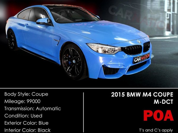 2015 BMW M4 Coupe M-DCT Western Cape Goodwood_0