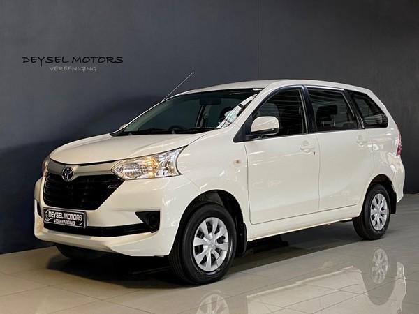 2016 Toyota Avanza 1.3 Sx  Gauteng Vereeniging_0