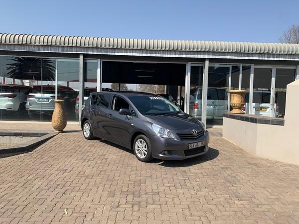 2011 Toyota Verso 1.8 Tx  Mpumalanga Delmas_0