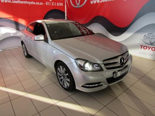 2013 Mercedes-Benz C-Class C180 Be Coupe  Gauteng Lenasia_0