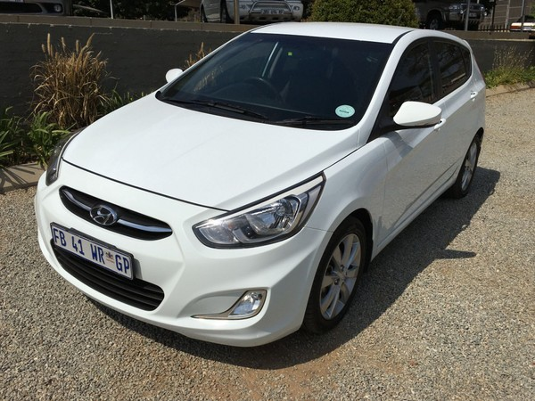 2016 Hyundai Accent 1.6 Fluid 5-Door Mpumalanga White River_0