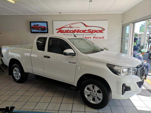 2019 Toyota Hilux 2.4 GD-6 RB SRX PU ECAB Western Cape Cape Town_0