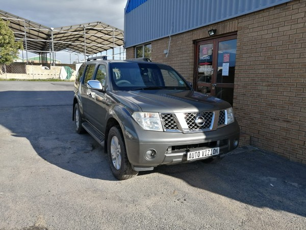 2005 Nissan Pathfinder 4.0 V6 4x4 Le At l17  Western Cape Brackenfell_0