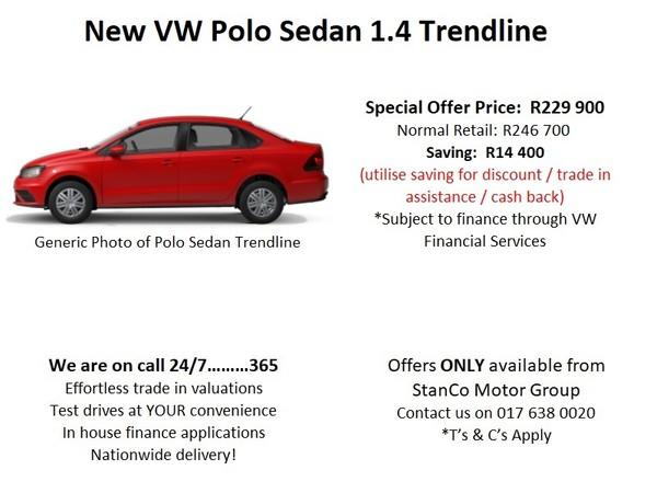 2020 Volkswagen Polo GP 1.4 Trendline Mpumalanga Standerton_0