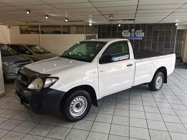 2011 Toyota Hilux 2.0 Vvti Pu Sc  Gauteng Edenvale_0