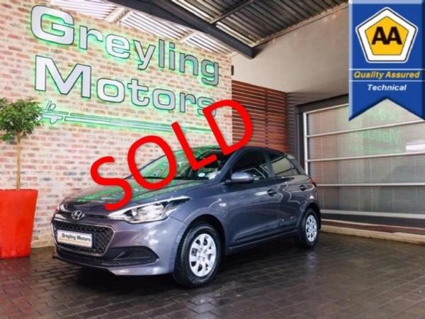 2018 Hyundai i20 1.4 Motion Auto Gauteng Pretoria_0