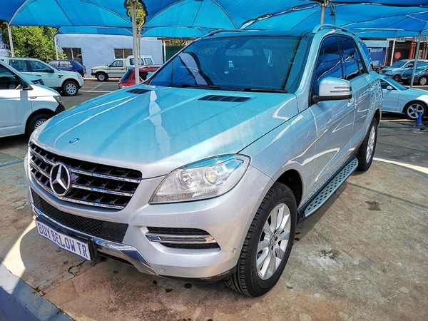 2014 Mercedes-Benz M-Class Ml 250 Bluetec  Gauteng Centurion_0
