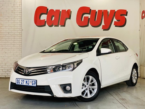 2014 Toyota Corolla 1.8 High CVT Gauteng Pretoria_0