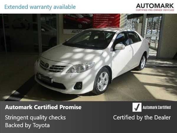 2012 Toyota Corolla 2.0 Exclusive At  Western Cape Cape Town_0