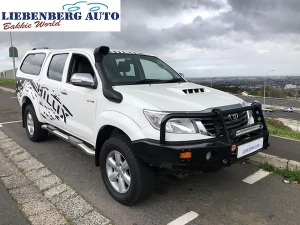 2012 Toyota Hilux 3.0 D-4d Raider 4x4 At Pu Dc  Western Cape Cape Town_0