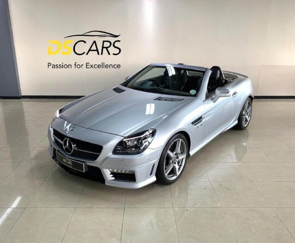 2014 Mercedes-Benz SLK-Class Slk 55 Amg  Western Cape Century City_0