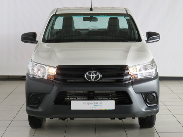 2019 Toyota Hilux 2.4 GD AC Single Cab Bakkie Mpumalanga Ermelo_0
