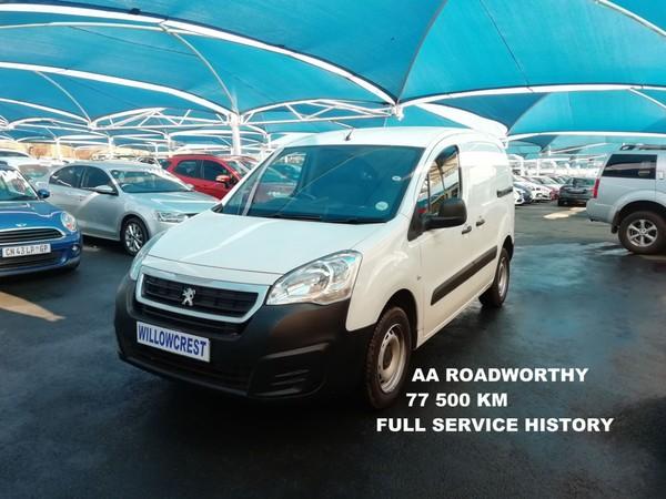 2016 Peugeot Partner 1.6 Hdi Fc Pv  Gauteng Randburg_0