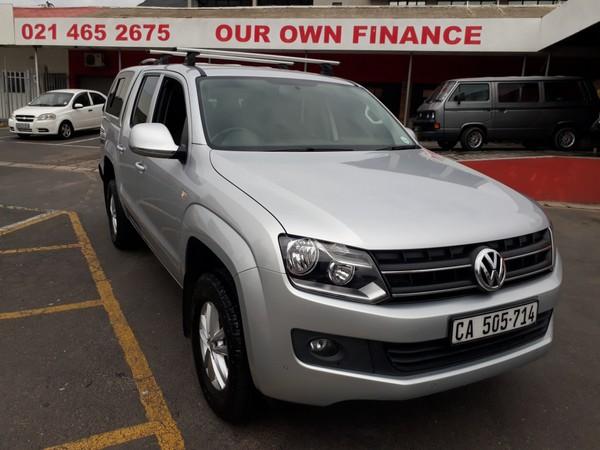 2016 Volkswagen Amarok 2.0TDi Trendline 103KW Double cab bakkie Western Cape Cape Town_0