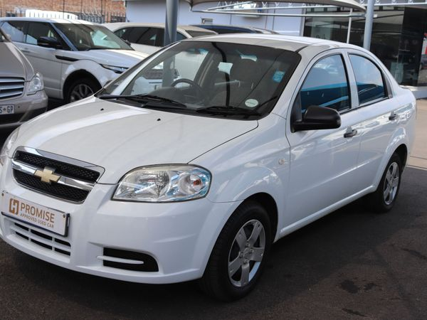 2011 Chevrolet Aveo 1.6 Ls  Gauteng Springs_0